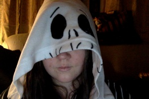My Jack Skellington onesie.